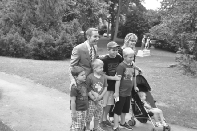Jeff Koons Familie