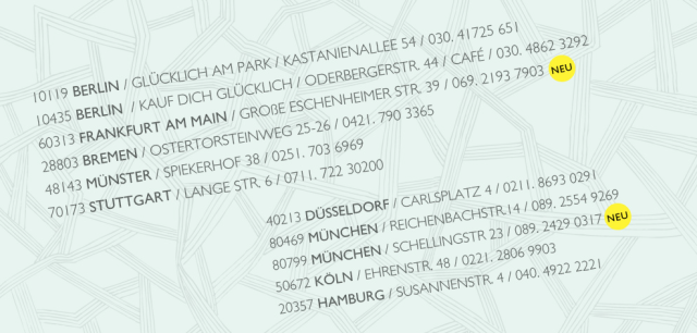 Kauf Dich glücklich Frankfurt